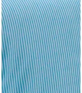 Couette Lignes et Couleurs Turquoise 300gr